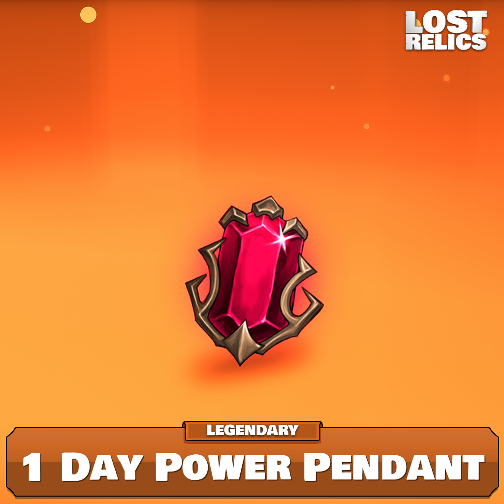 1 Day Power Pendant