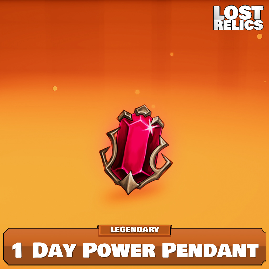 1 Day Power Pendant Image