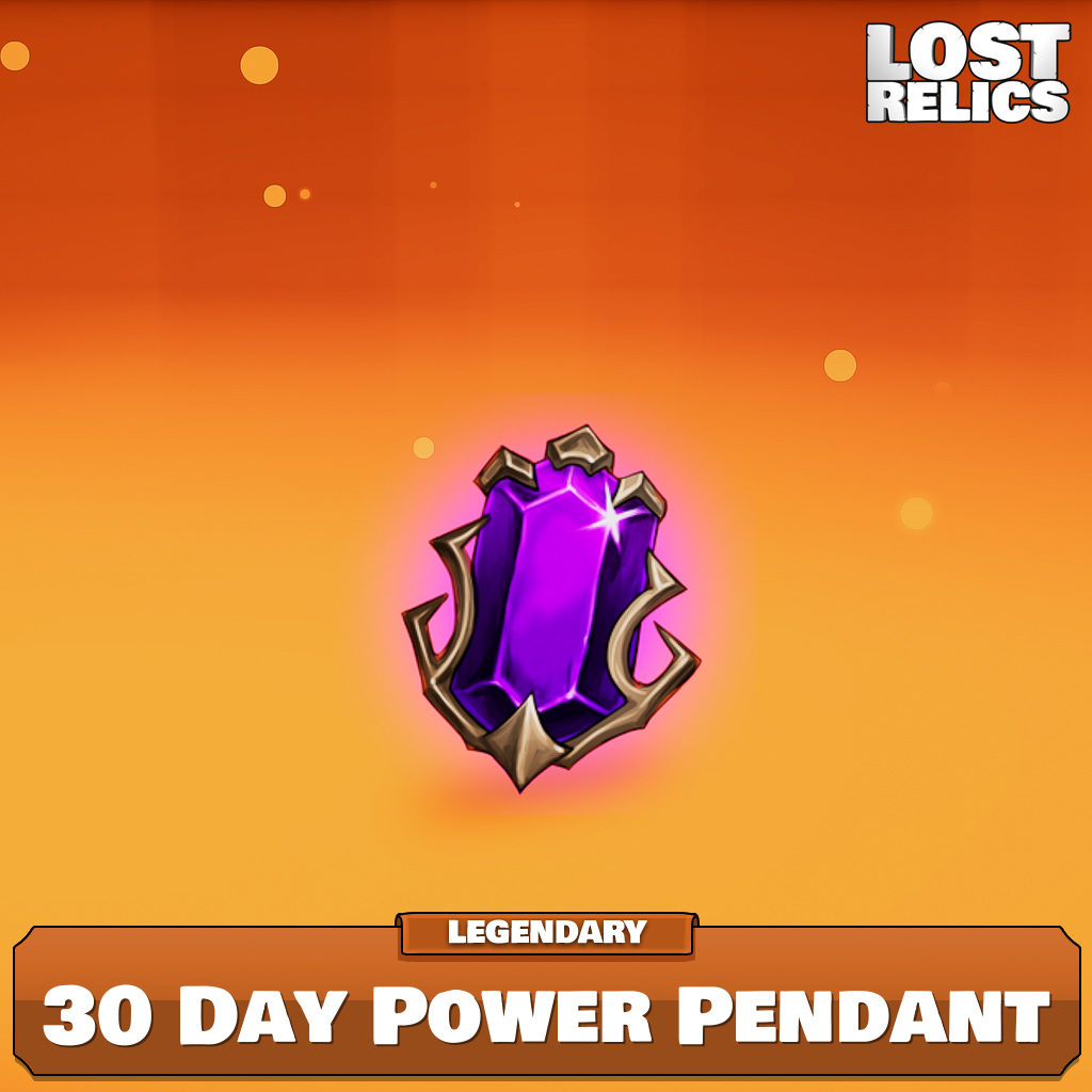 30 Day Power Pendant Image