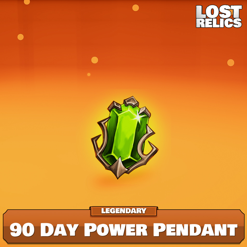 90 Day Power Pendant