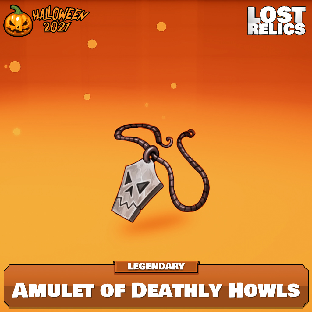 Amulet of Deathly Howls Image