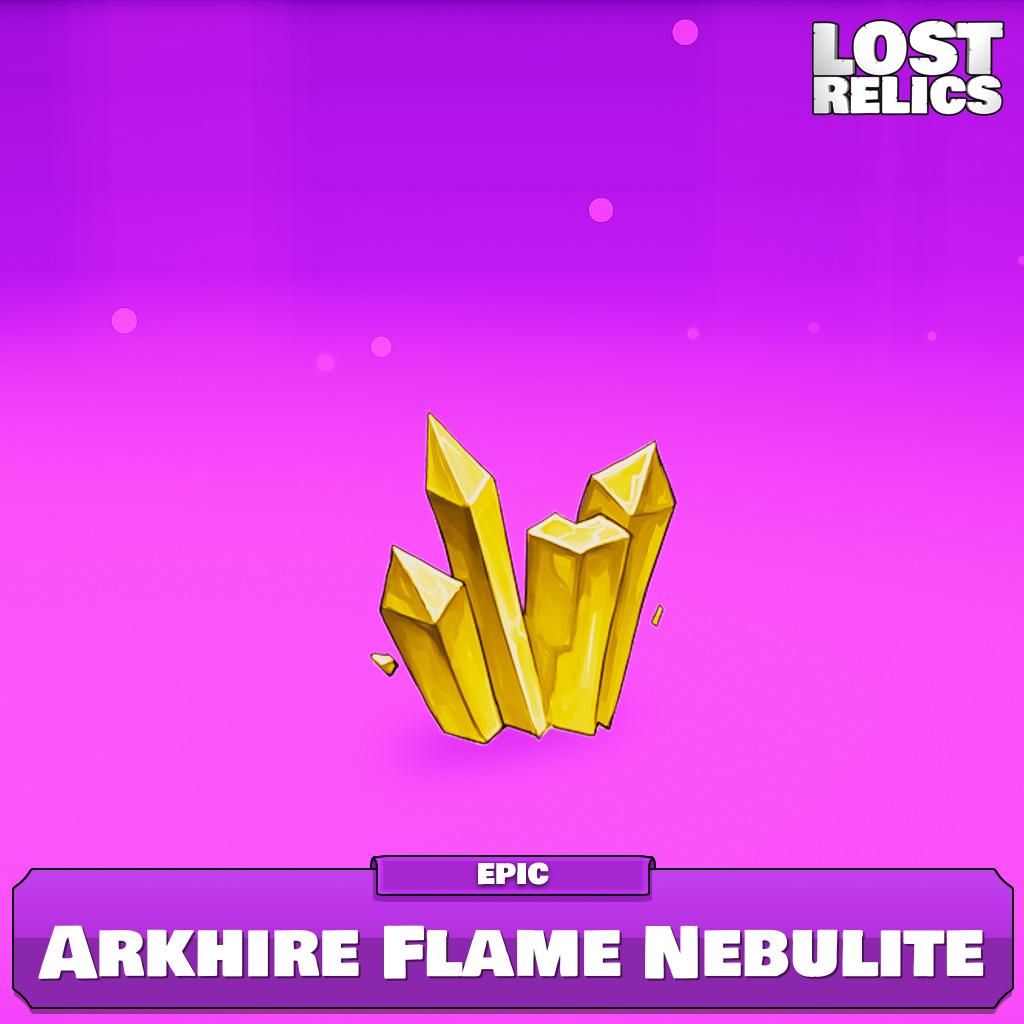 Arkhire Flame Nebulite Image