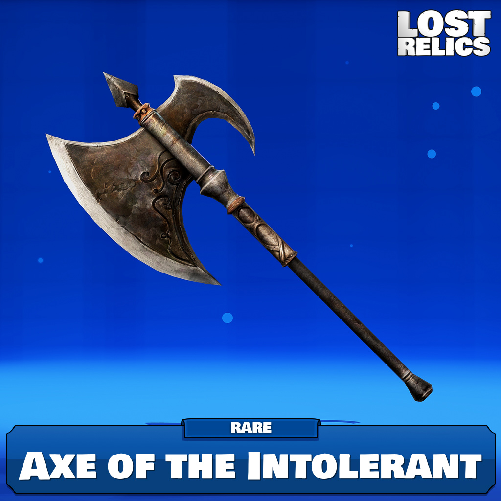 Axe of the Intolerant Image
