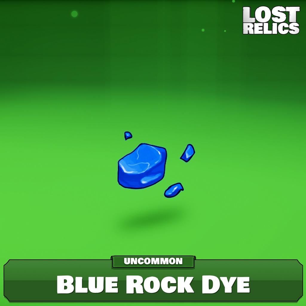 Blue Rock Dye Image