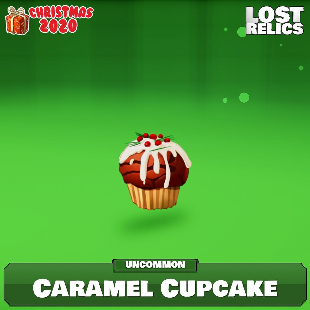 Caramel Cupcake Image