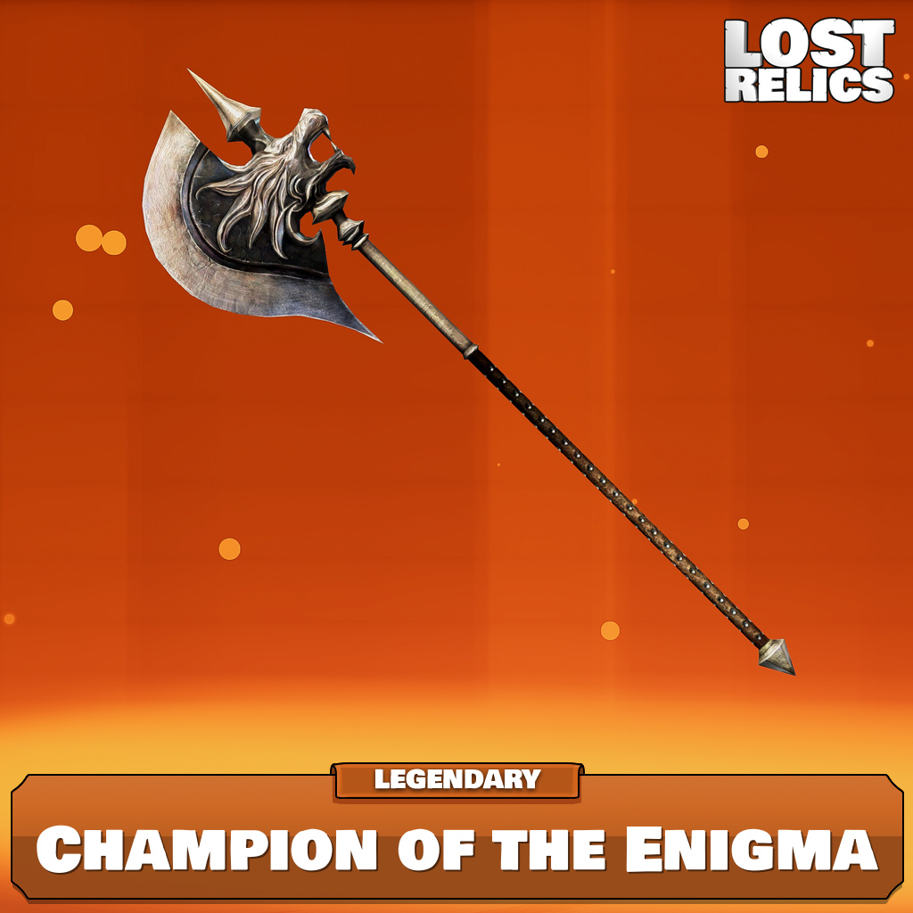 Champion of the Enigma Image