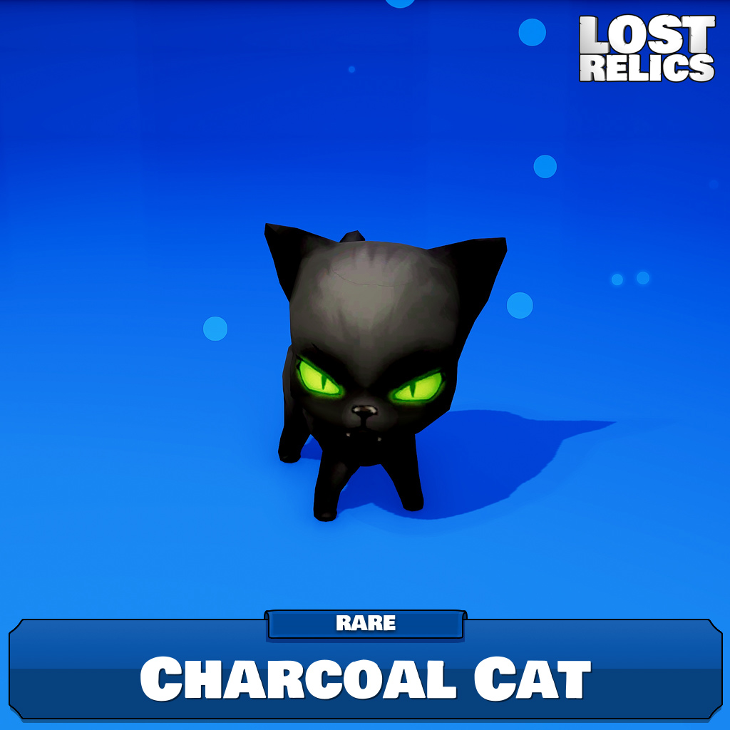 Charcoal Cat Image