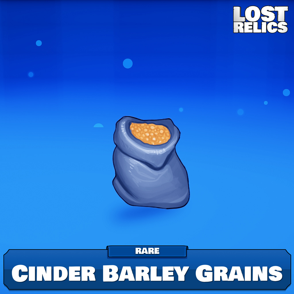 Cinder Barley Grains Image