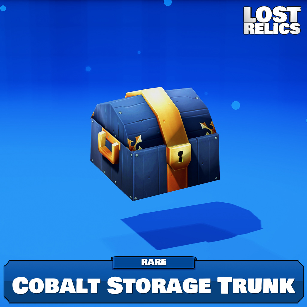 Cobalt Storage Trunk Image