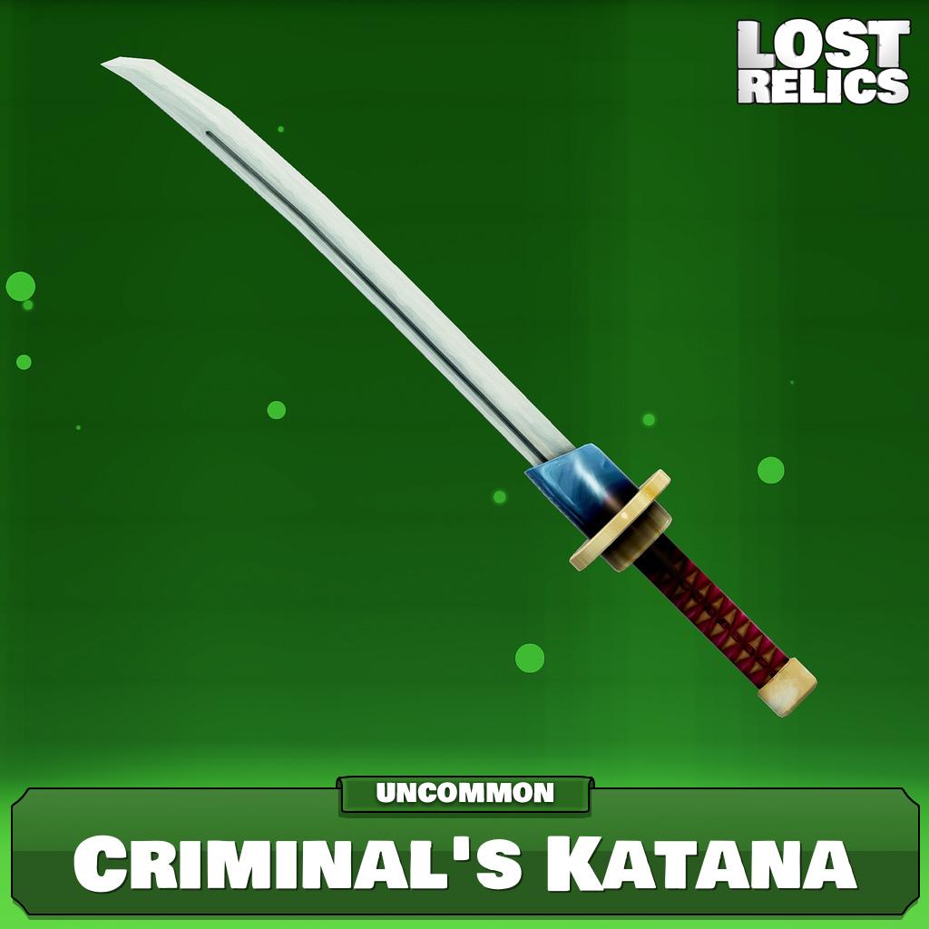 Criminal's Katana Image