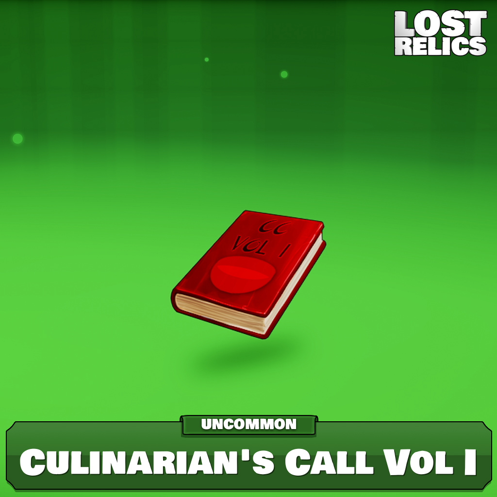 Culinarian's Call Vol I Image