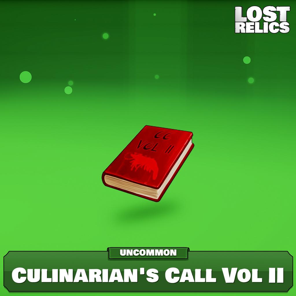 Culinarian's Call Vol II Image