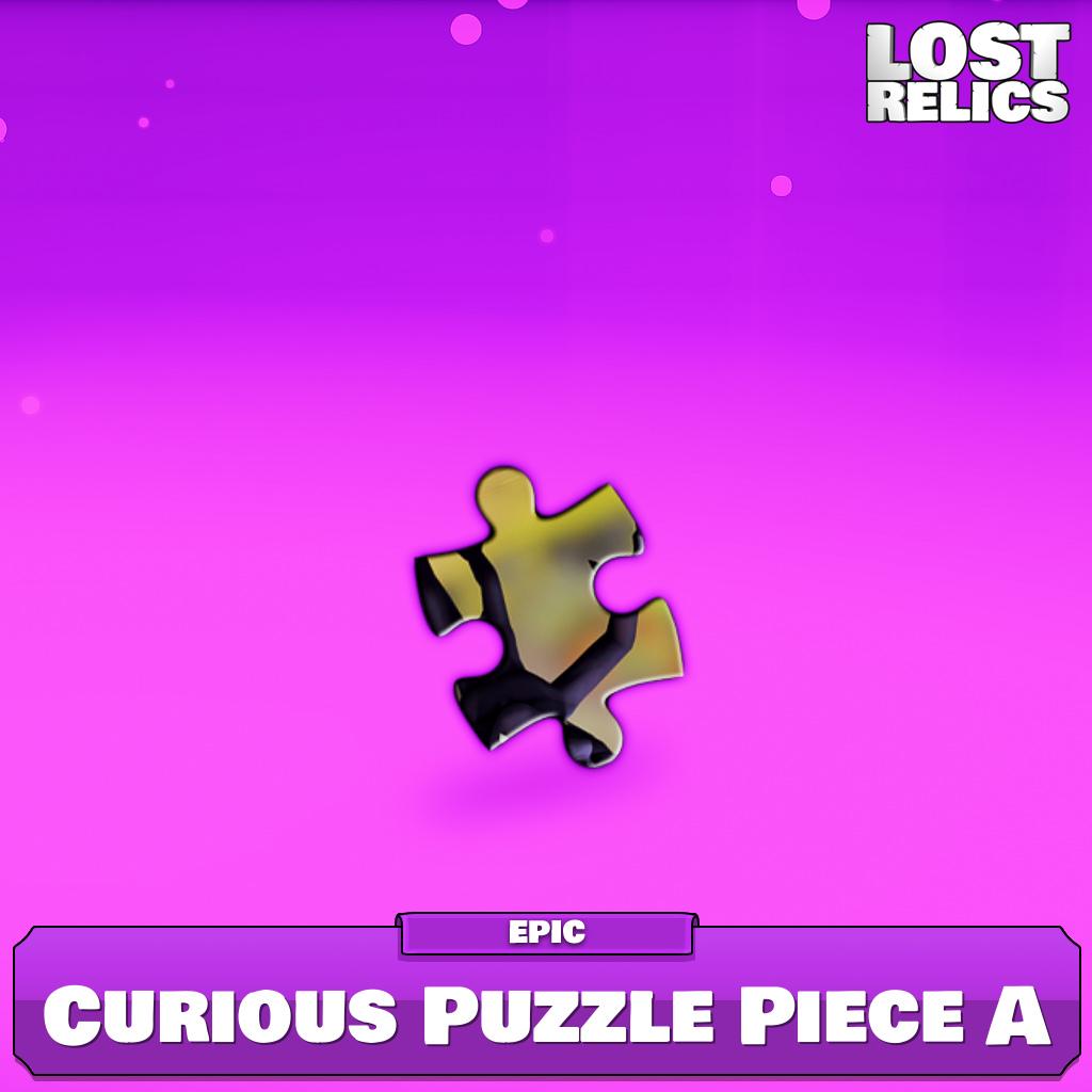 Curious Puzzle Piece A Image