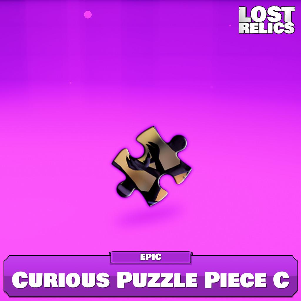 Curious Puzzle Piece C Image