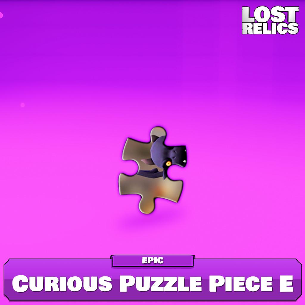 Curious Puzzle Piece E Image