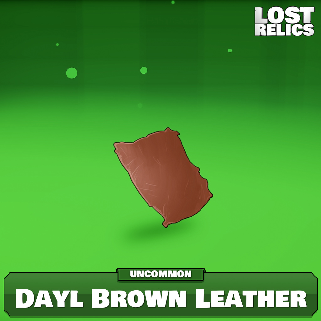 Dayl Brown Leather Image