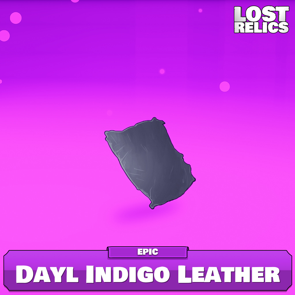 Dayl Indigo Leather Image