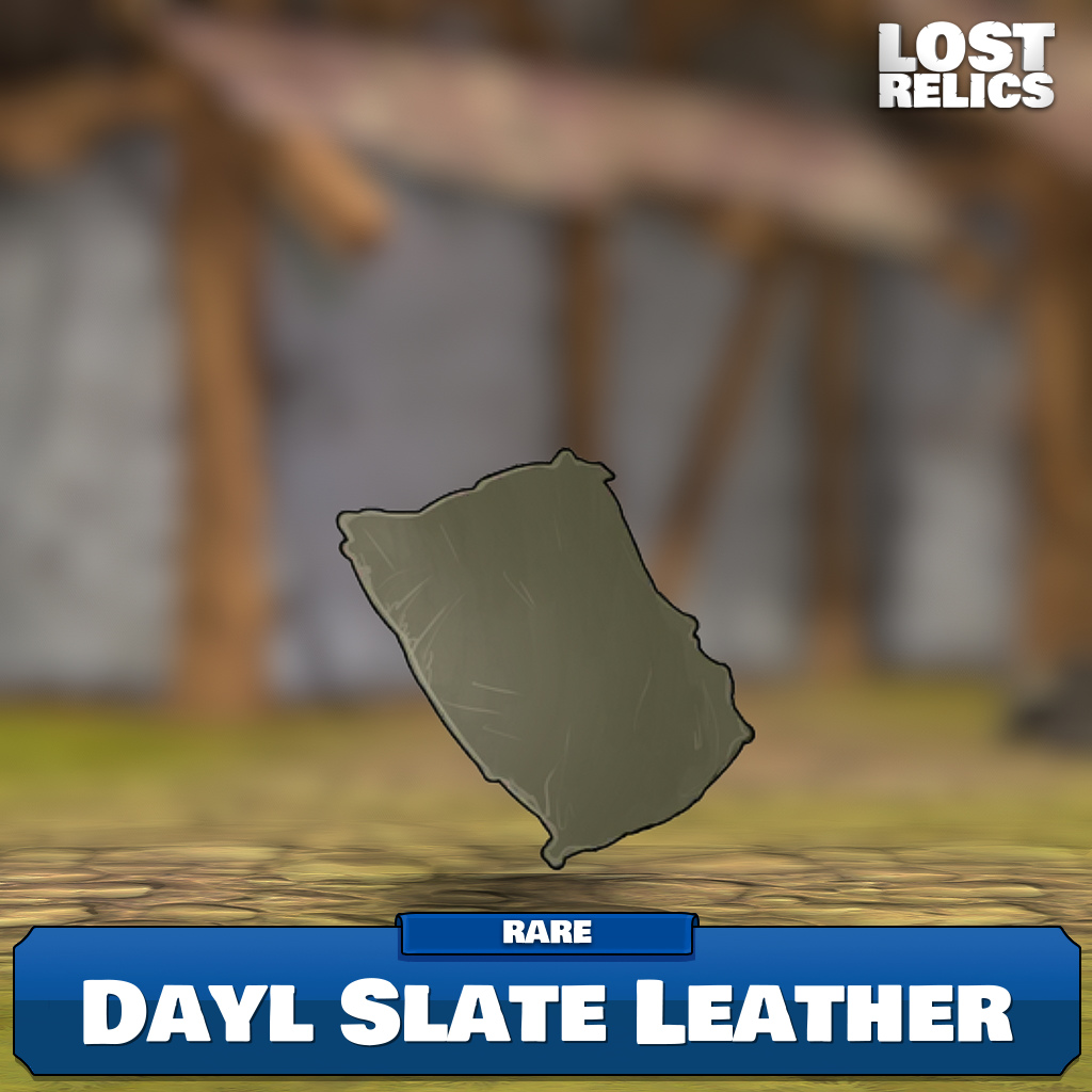 Dayl Slate Leather Image