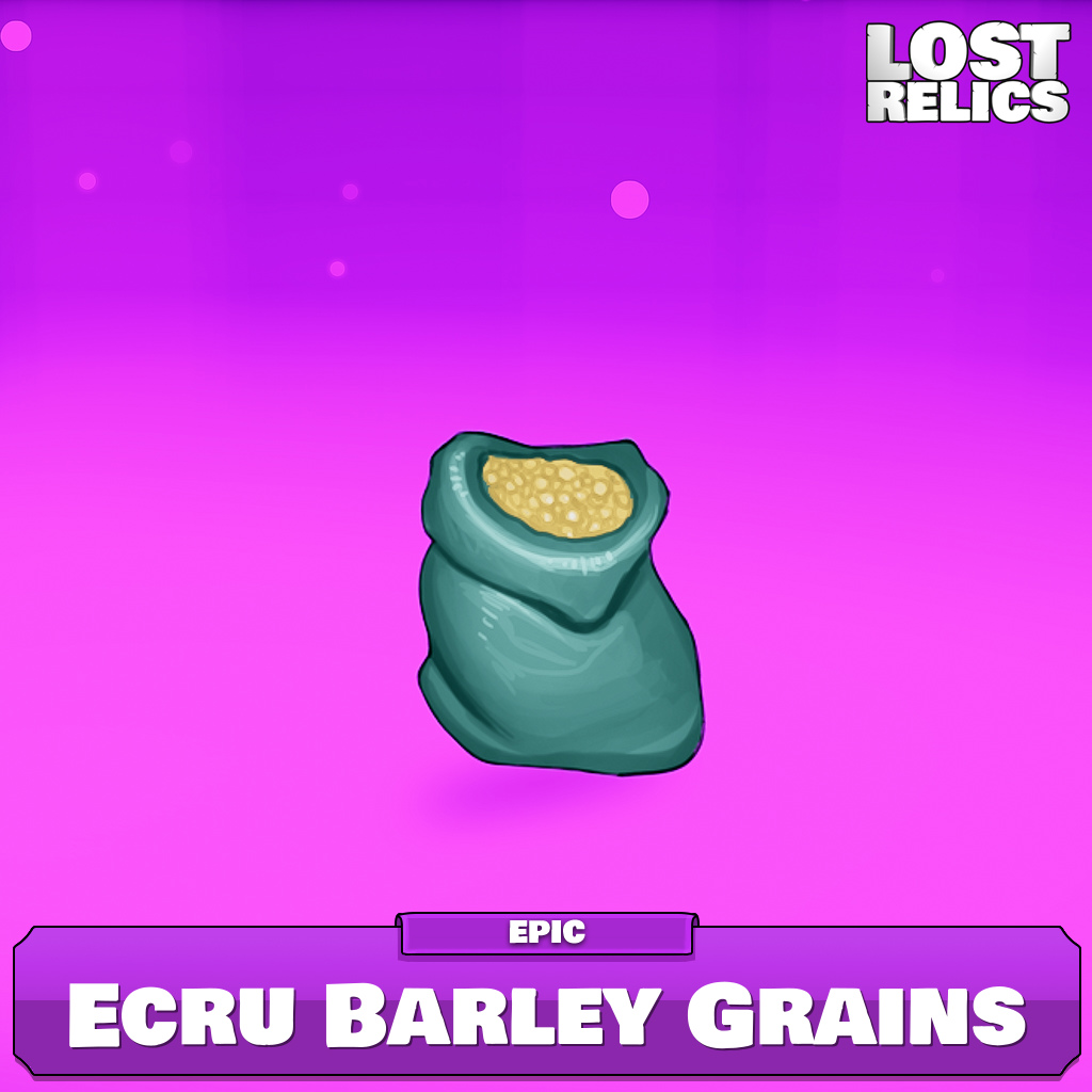 Ecru Barley Grains Image