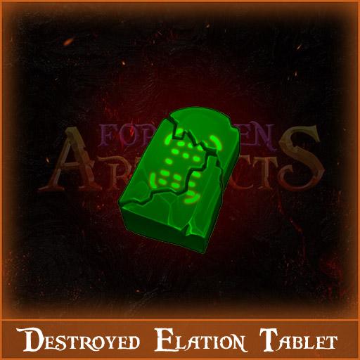 Destroyed Elation Tablet Image