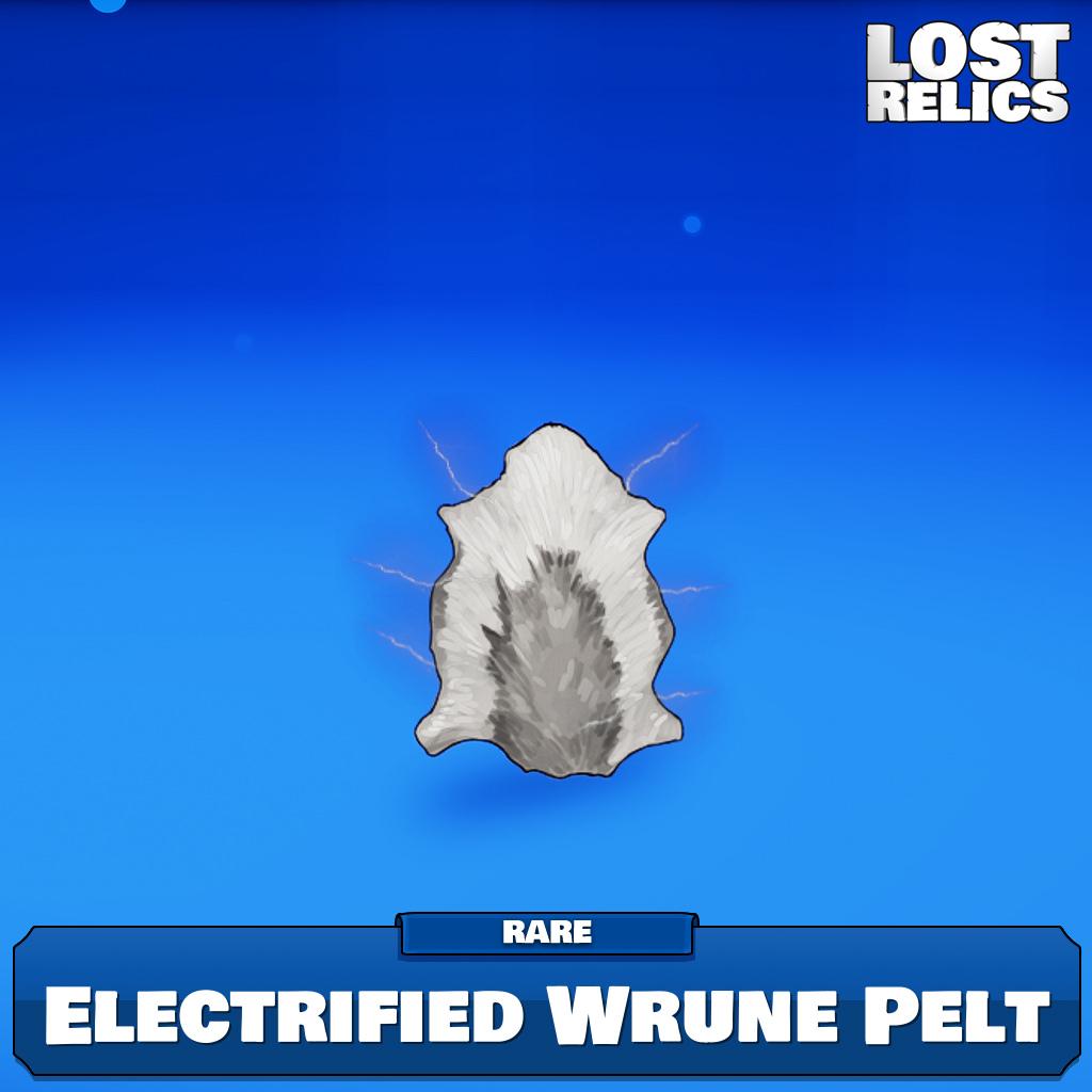 Electrified Wrune Pelt Image