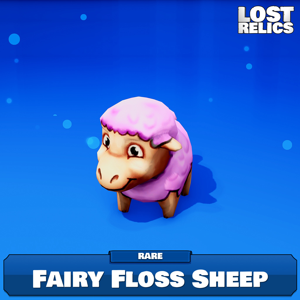 Fairy Floss Sheep Image