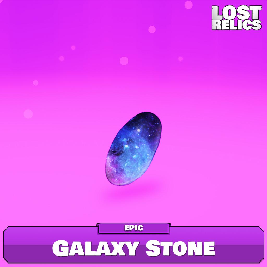 Galaxy Stone Image