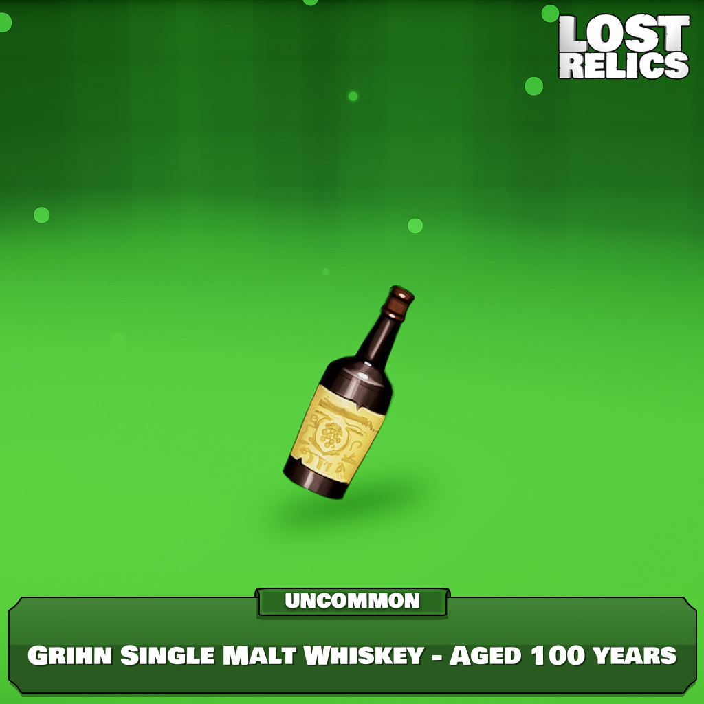 Grihn Single Malt Whiskey - Aged 100 years Image