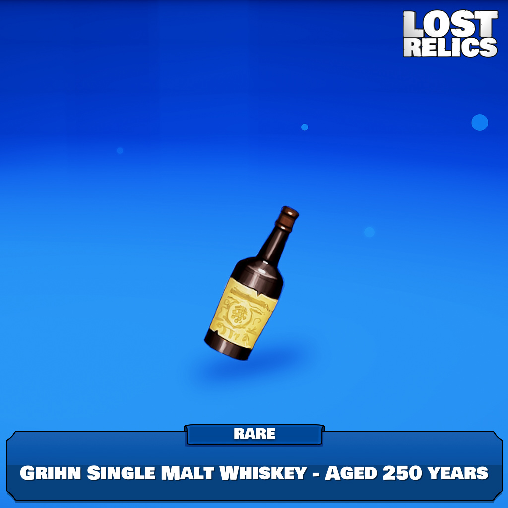 Grihn Single Malt Whiskey - Aged 250 years Image
