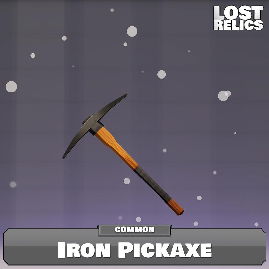 Iron Pickaxe Image