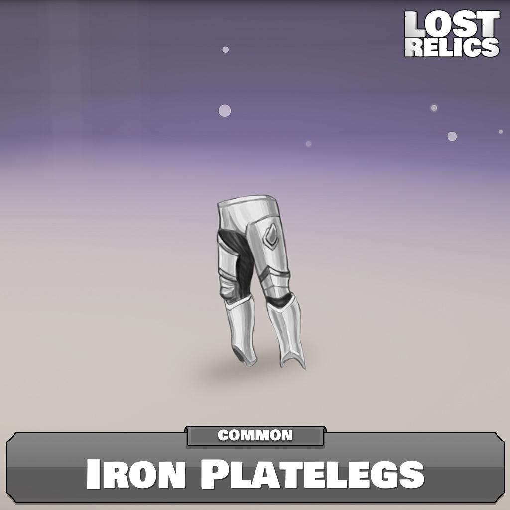 Iron Platelegs Image