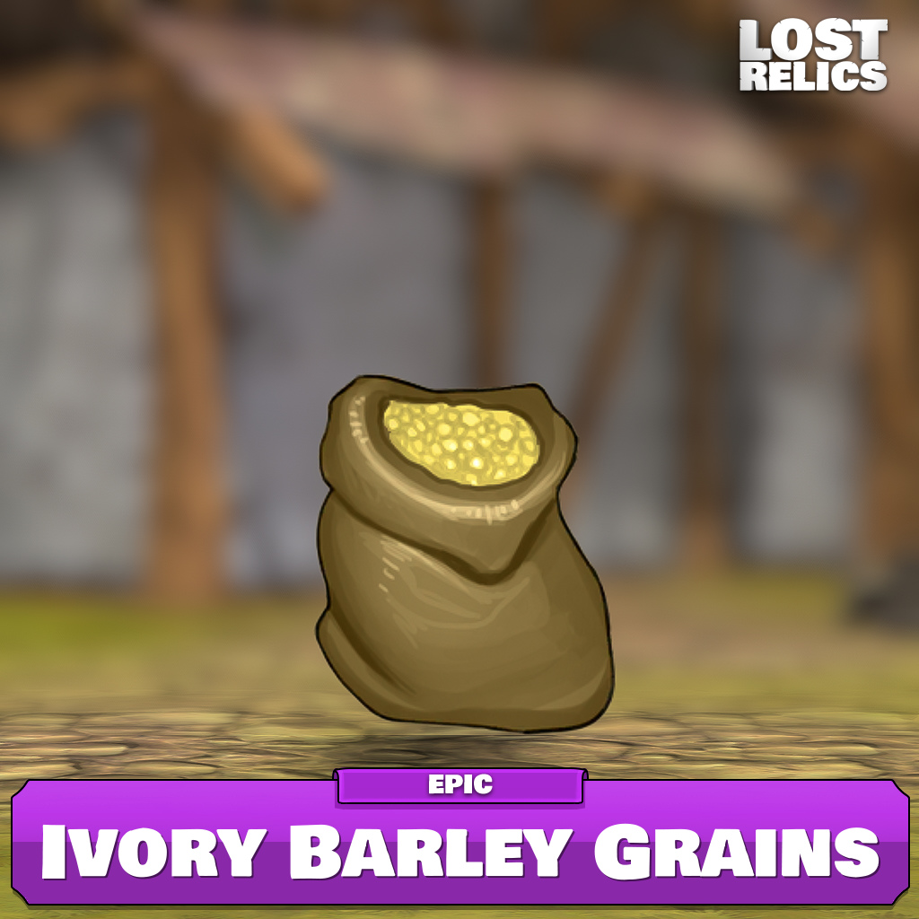 Ivory Barley Grains Image