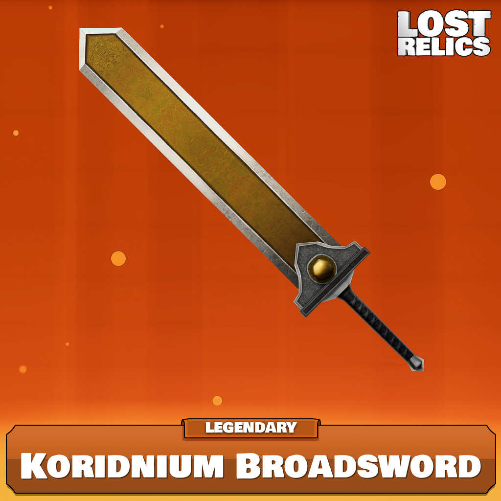 Koridnium Broadsword Image