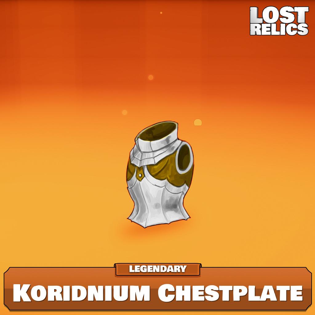 Koridnium Chestplate Image