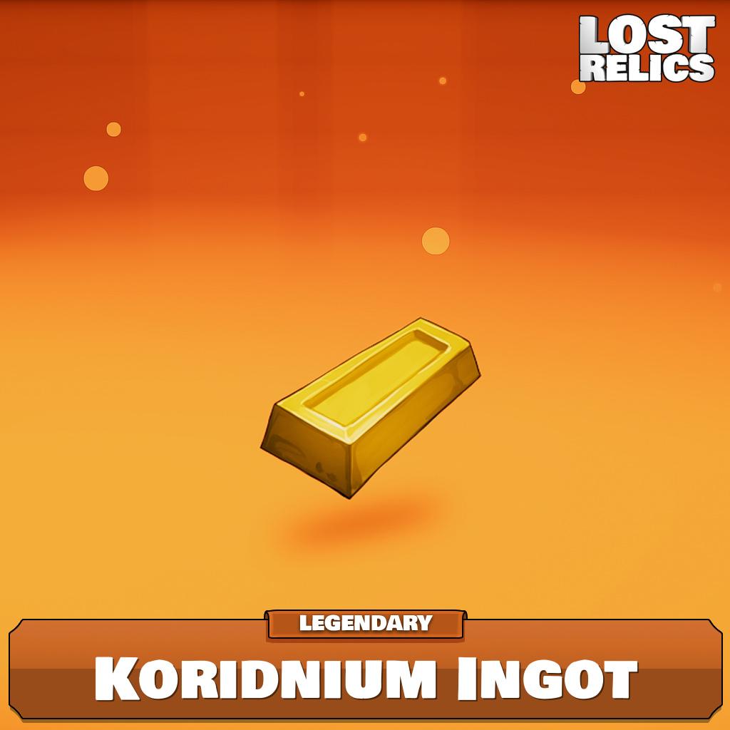Koridnium Ingot Image