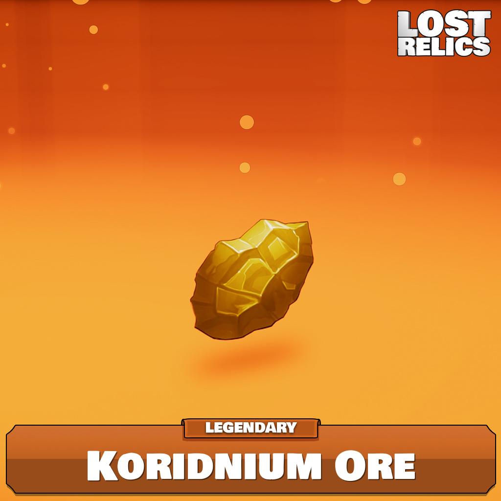Koridnium Ore Image