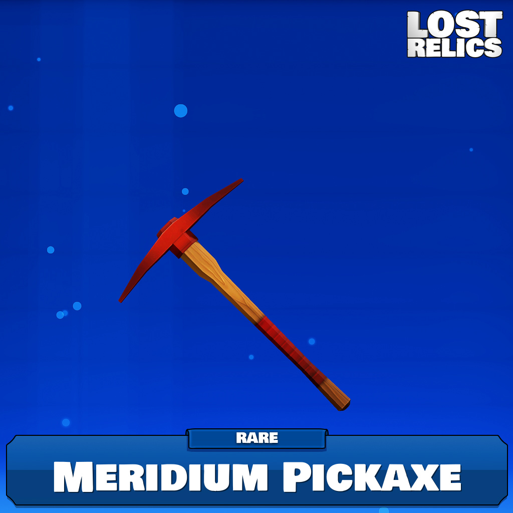 Meridium Pickaxe Image