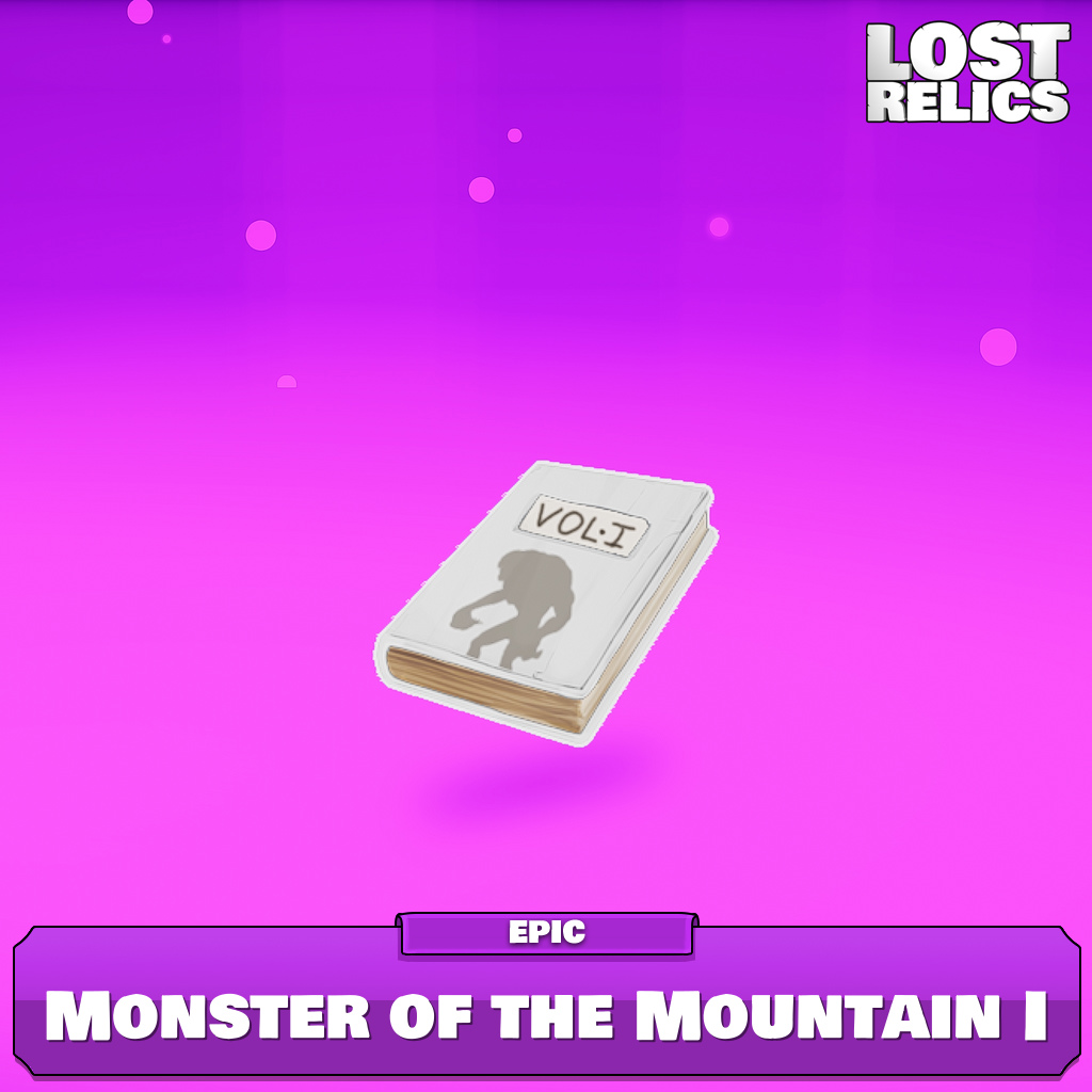 Monster of the Mountain I Image