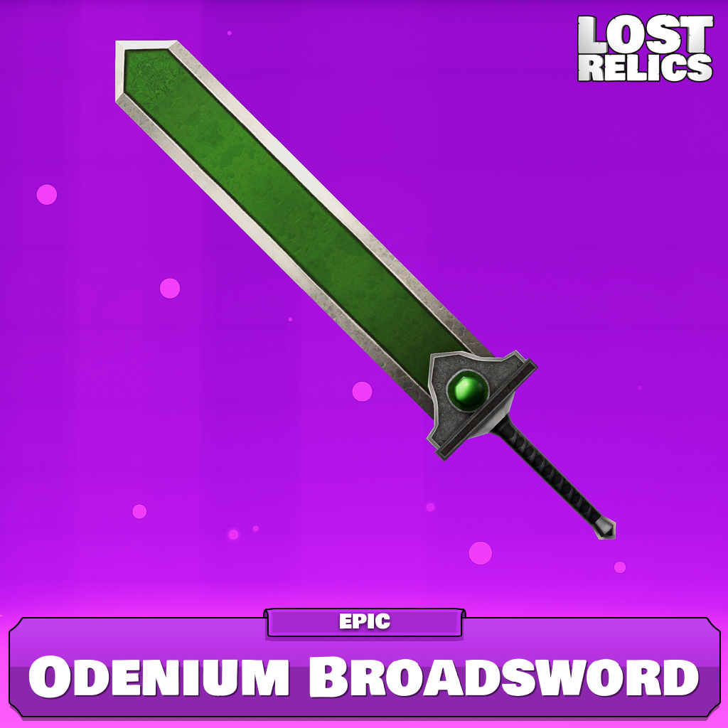 Odenium Broadsword Image