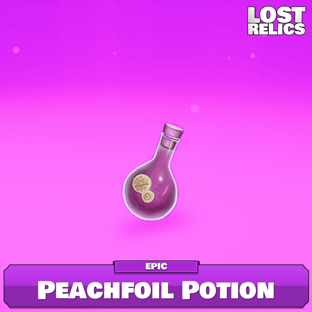 Peachfoil Potion Image