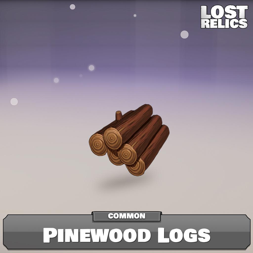 Pinewood Logs Image