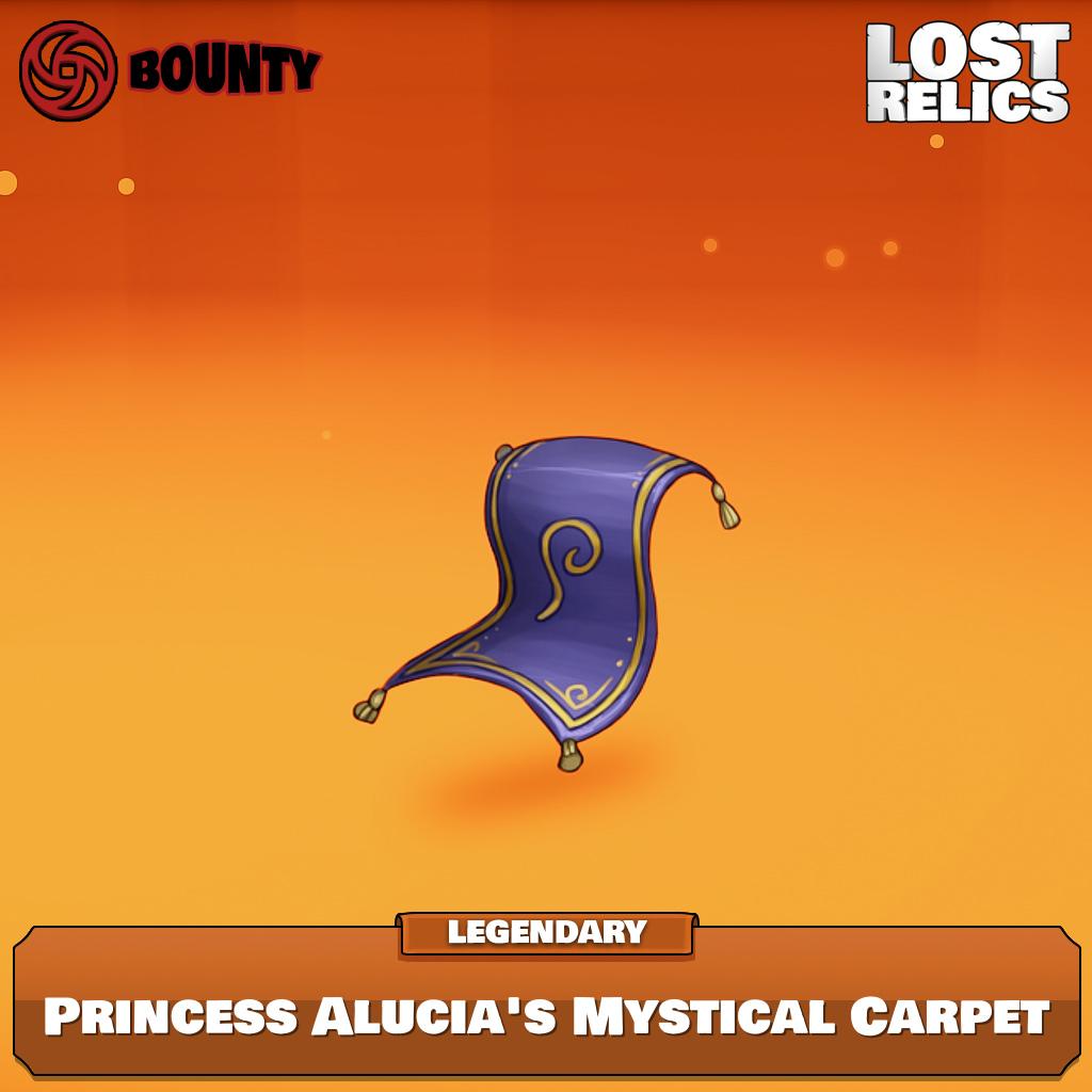 Princess Alucia's Mystical Carpet Image