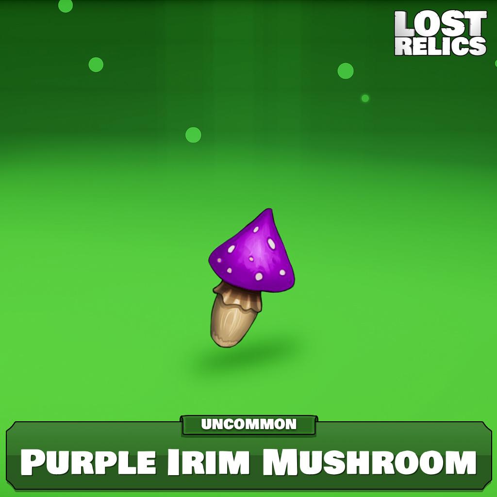 Purple Irim Mushroom Image