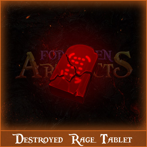 Destroyed Rage Tablet Image