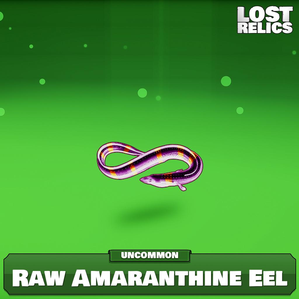 Raw Amaranthine Eel Image
