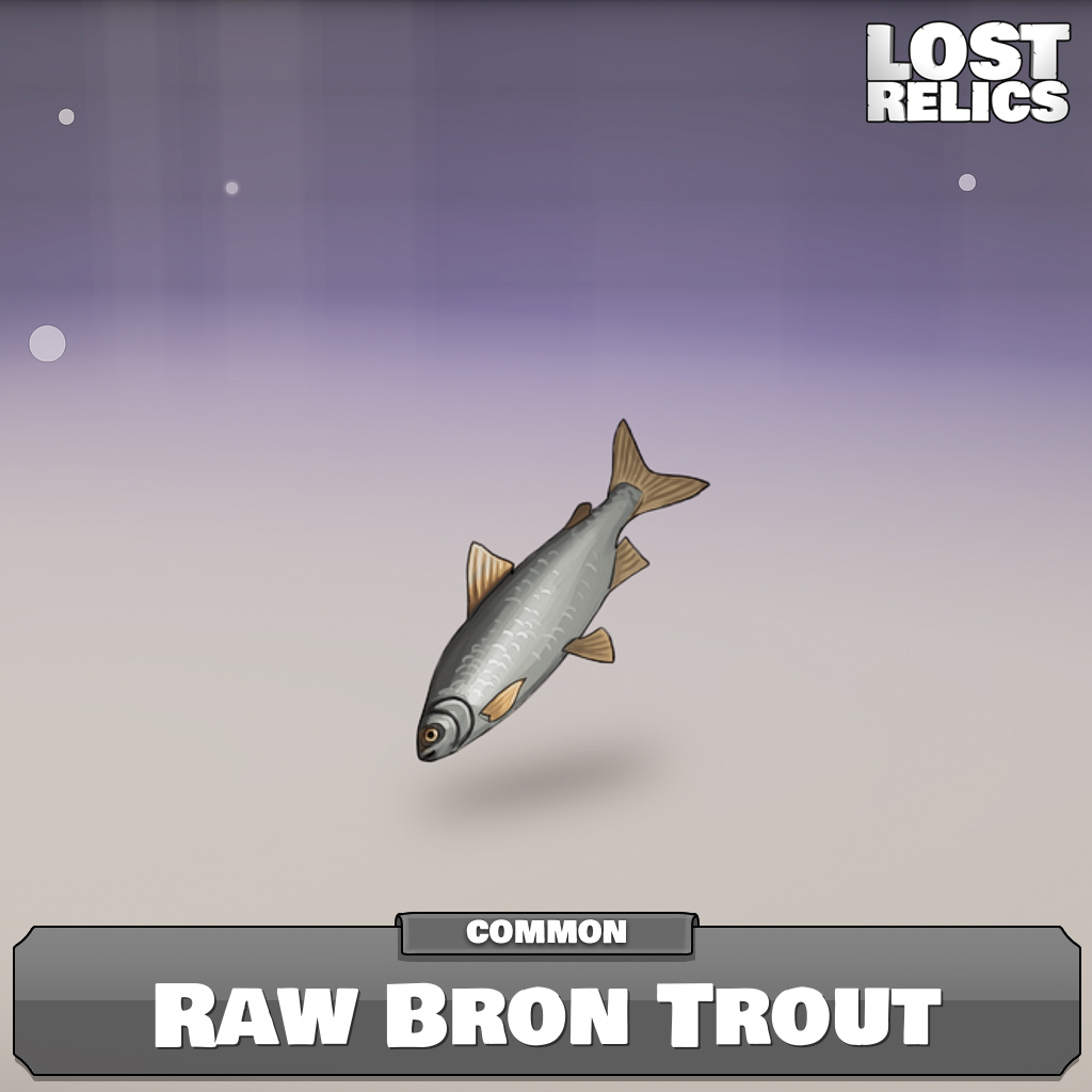 Raw Bron Trout Image