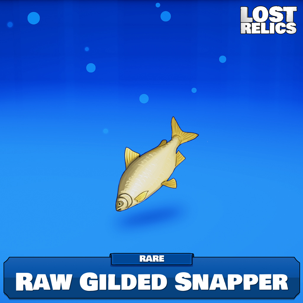 Raw Gilded Snapper Image