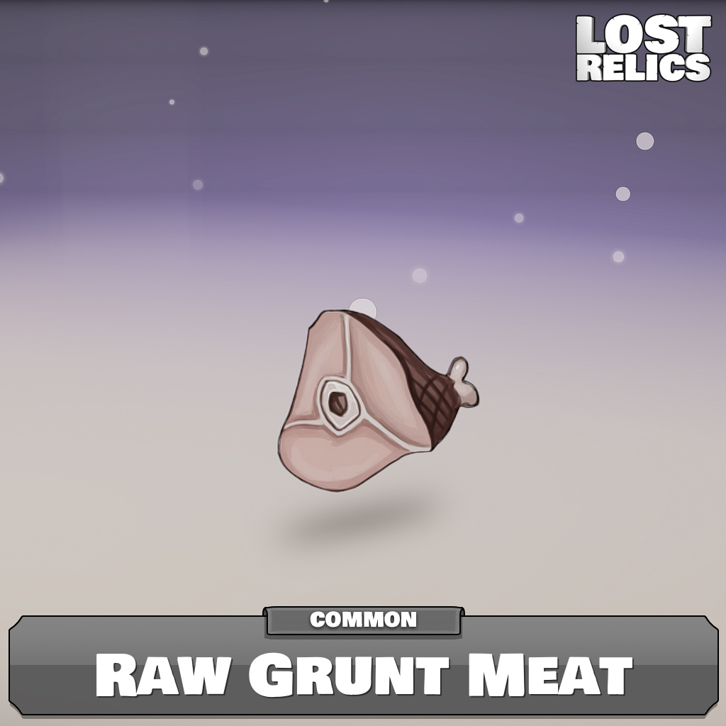 Raw Grunt Meat Image