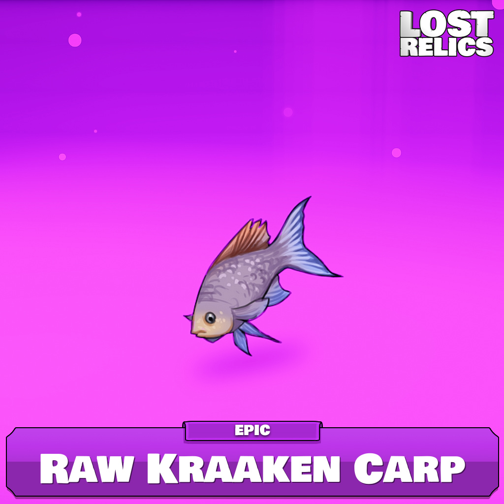 Raw Kraaken Carp Image