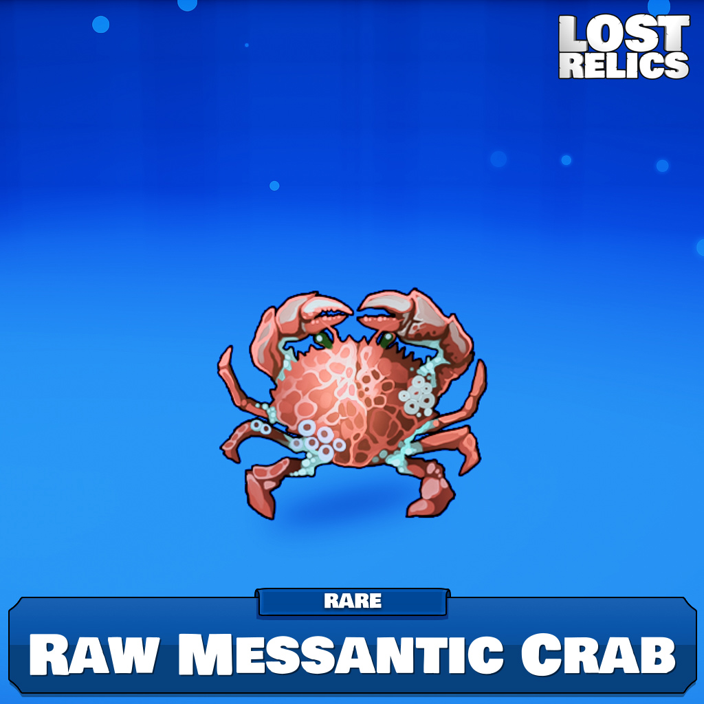 Raw Messantic Crab Image